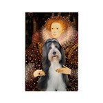 Queen / Beardie #6 Rectangle Magnet (10 pack)