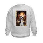 Queen / Beardie #6 Kids Sweatshirt