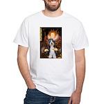 Queen / Beardie #6 White T-Shirt