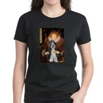 Queen / Beardie #6 Women's Dark T-Shirt
