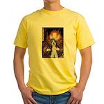 Queen / Beardie #6 Yellow T-Shirt