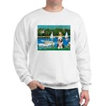Sailboats / Beardie #1 Sweatshirt