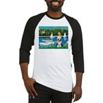 Sailboats / Beardie #1 Baseball Jersey