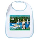 Sailboats / Beardie #1 Bib