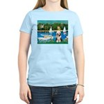 Sailboats / Beardie #1 Women's Light T-Shirt