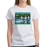 Sailboats / Beardie #1 Women's T-Shirt