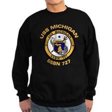 SSBN 727 USS Michigan Sweatshirt