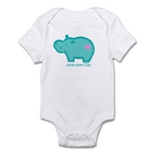 Smile Hippo Infant Bodysuit