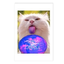 Easter Cat Postcards (Package of 8)