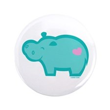 "Hippo 3.5"" Button (100 pack)"
