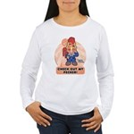 Cocky Blocky Women's Long Sleeve T-Shirt
