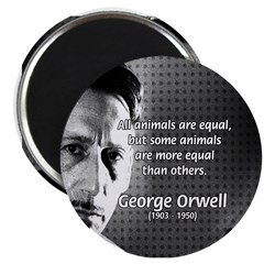 Animal Farm: George Orwell Magnet