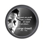 Animal Farm: George Orwell Wall Clock