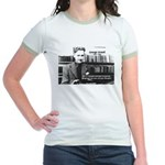 George Orwell: Language Thought Jr. Ringer T-Shirt