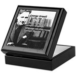 George Orwell: Language Thought Keepsake Box
