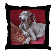 Weinaraner Throw Pillow