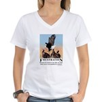 Frustration Women's V-Neck T-Shirt