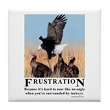 Frustration Tile Coaster