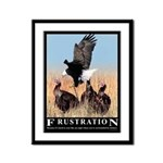 Frustration Framed Panel Print
