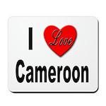 I Love Cameroon Mousepad