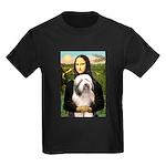 Mona / Bearded Collie #1 Kids Dark T-Shirt
