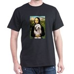Mona / Bearded Collie #1 Dark T-Shirt