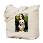 Mona / Bearded Collie #1 Tote Bag