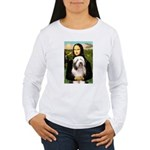 Mona / Bearded Collie #1 Women's Long Sleeve T-Shi