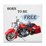 Born To Be Free Tile Coaster