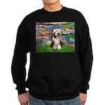 Lilies / Beardie #1 Sweatshirt (dark)