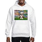 Lilies / Beardie #1 Hooded Sweatshirt