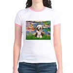 Lilies / Beardie #1 Jr. Ringer T-Shirt