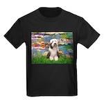 Lilies / Beardie #1 Kids Dark T-Shirt