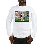 Lilies / Beardie #1 Long Sleeve T-Shirt