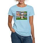 Lilies / Beardie #1 Women's Light T-Shirt