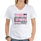 HERO Comes Along 1 Mommy BREAST CANCER Shirt