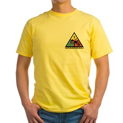 3rd Mt. Division Mason Yellow T-Shirt