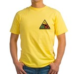 3rd Mt. Division Mason Yellow T-Shirt
