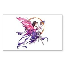 Tales of the Dragon Fairy Rectangle Sticker 50 pk