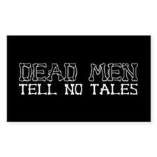 Dead Men Tell No Tales Rectangle Sticker 10 pk)