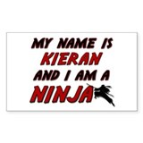 my name is kieran and i am a ninja Decal