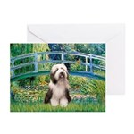 Bridge / Beardie #1 Greeting Cards (Pk of 20)