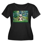 Bridge / Beardie #1 Women's Plus Size Scoop Neck D