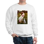 Windflowers / Dalmatian #1 Sweatshirt