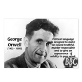 Politics / Language: Orwell Postcards (Package of