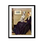 Whistler's / Dalmatian #1 Framed Panel Print