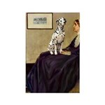 Whistler's / Dalmatian #1 Rectangle Magnet (100 pa