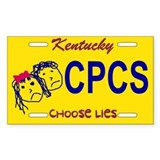 Choose Lies Sticker -- Kentucky