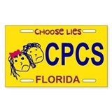 Choose Lies Sticker -- Florida