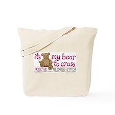 My Bear to Cross Tote Bag